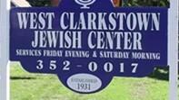 West Clarkstown Jewish Center sign