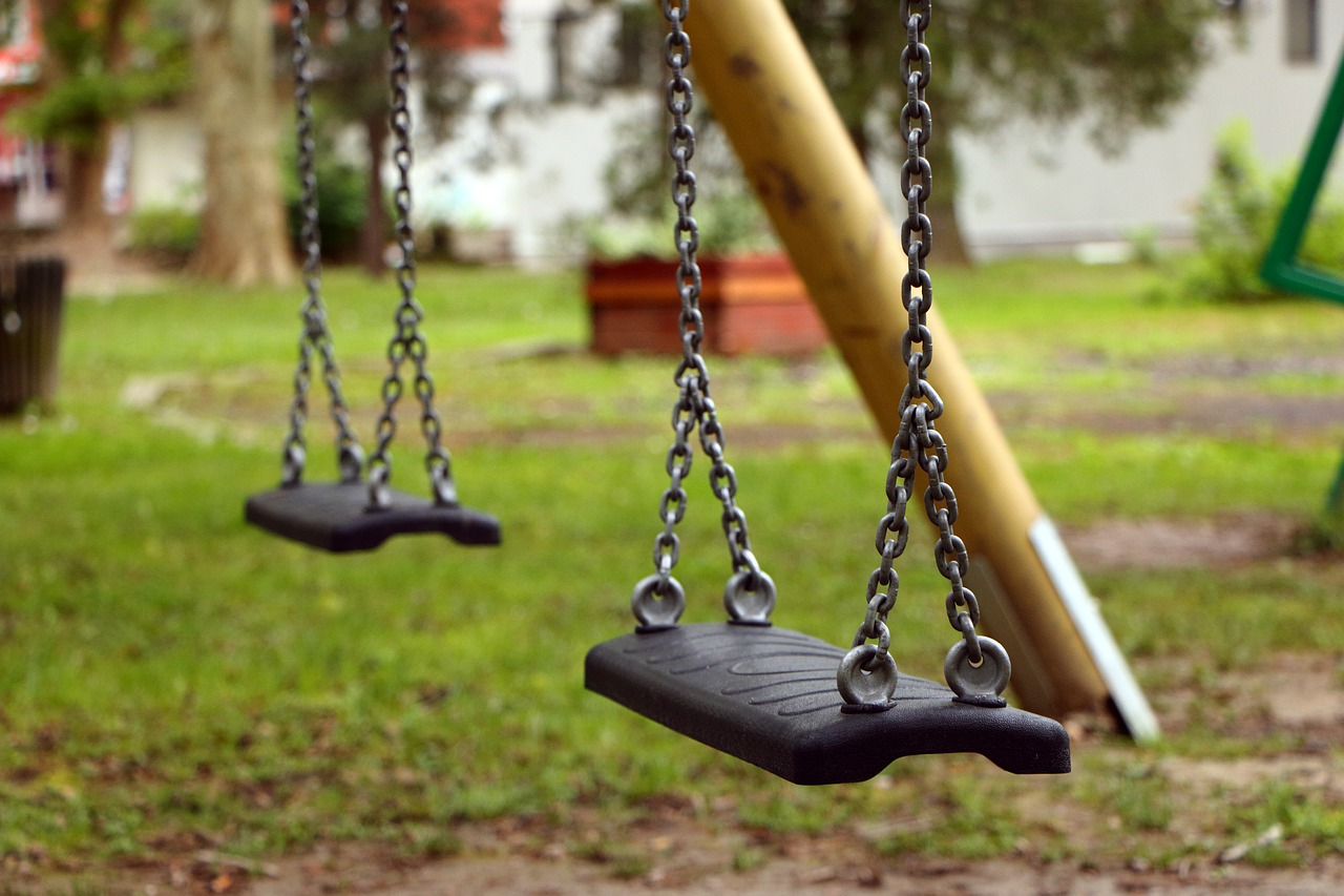 Photo of two swings
