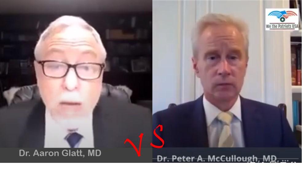 Screenshots of Dr. Glatt & Dr. McCullough